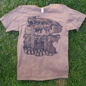 Image of Prairie Ghost Shirt-Mocha