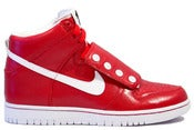 "Image of Nike Dunk High BZ ""QUESTLOVE"" - RED"