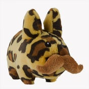 Image of Leopard 'Stache Labbit Plush 7inches