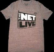 Image of The Net Live Grey Tee by Hurley