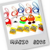 Image of MARIO BROS LIMITED MOBILE CHAINS