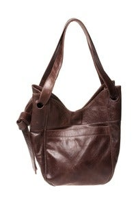 Image of XL LEATHER TOTE