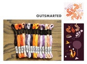 Image of Cosmo Embroidery Floss Palette : Outfoxed Collection : Outsmarted