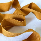 Image of Petersham Ribbon - Honey