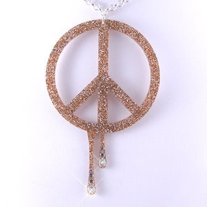 Image of Peace CND Necklace