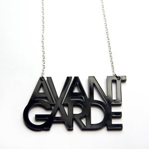 Image of Avant Garde Acrylic Necklace