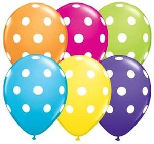 Image of 16 inch Polka Dot Balloon