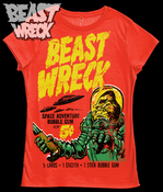 "Image of ""BEASTWRECK ATTACKS!"" Womens shirt"