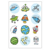 Image of To Infinity Space Boy Stickers