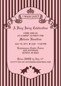 Image of Juicy Couture Invitation