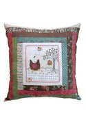 Image of Nora's Hens Pillow pattern