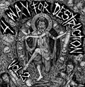 Image of 4 WAY FOR DESTRUCTION II-CD