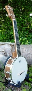 Image of NEW!! Eddy Finn Banjolele Walnut concert