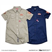 Image of Filter017 CREALIVE DEPT. Work Shirt For Female