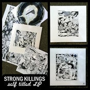 Image of Strong Killings S/T LP DSBR022