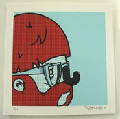 Image of Mr penfold: Mini Screenprint