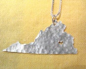 Image of Virginia State Necklace