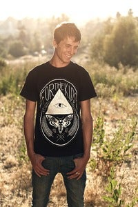 Image of All Seeing Eye & Moth Tee