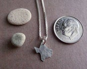 Image of Tiny Texas State Necklace
