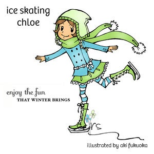 Image of Ice Skating Chloe