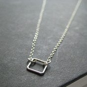 Image of Square One Necklace