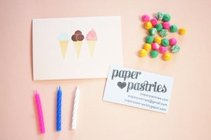 Image of Custom Stationery Gift - deposit