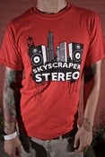 Image of Skyscraper Stereo T-Shirt: City Speakers (Avail. in Mens and Juniors)