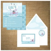 Image of Invitations | Kids<BR>{Under the Sea}