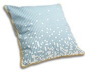 Image of Blue & Clementine Cushion