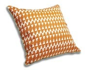 Image of Copper & Jade Cushion