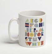 Image of Alphabet Tea Break Mug