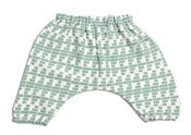 Image of Alphabet Hareem Pants -Vintage Duck Egg