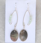 Image of fish lure inspired abalone shell & pacific opal