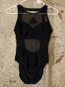 Image of Sheer Cut-Out Swimsuit