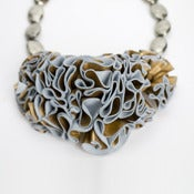 Image of victorian ruffle necklace