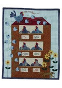 Image of Rise and Shine Wallhanging pattern