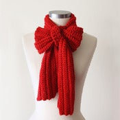 Image of Casual Scarf in Cardinal