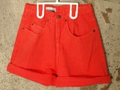Image of Contempo Casuals - Neon Red Shorts