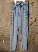 Image of Watch L.A. - Acid Wash Jeans w/ Rings