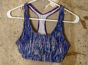 Image of Sportsbra - Purple, Blue, White