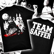 Image of TEAM SAFFER! anti-twilight shirt