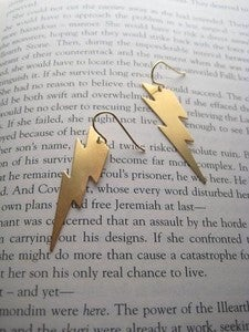 Image of Lightning Bolt Earings