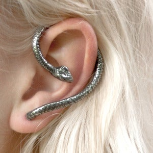 Image of Mai. Snake Wrap Earring