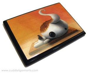 Image of &quot;No S&amp;#x27;more&quot; mounted giclee print