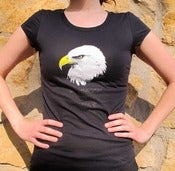 "Image of Women's Fourth Of July ""Eagle"" T-Shirt"