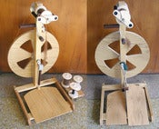 Image of Fricke Spinning Wheels (Level-Wind flyer aka Woolee Winder)