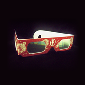 Image of He's Alive Radio 3D Glasses