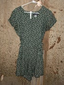 Image of Romper - Green, White Floral