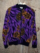 Image of Patterned Jacket - Purple, Black, Gold