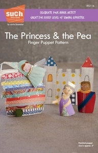 Image of The Princess & the Pea Finger Puppet pattern